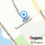 Frant на карте Санкт-Петербурга