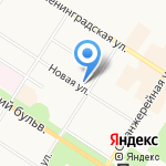 Агентство занятости населения Пушкинского района на карте Санкт-Петербурга