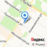 Отдел МВД Пушкинского района на карте Санкт-Петербурга