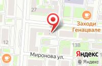 Схема проезда до компании Норд в Санкт-Петербурге