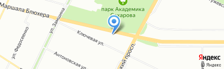 Холт на карте Санкт-Петербурга