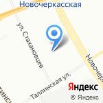 Антарес на карте Санкт-Петербурга