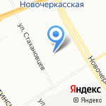 Контраст на карте Санкт-Петербурга