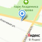 Мегаполис-Спб на карте Санкт-Петербурга