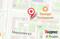 Схема проезда до компании Тм-Принт в Санкт-Петербурге