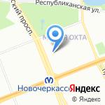 Империал на карте Санкт-Петербурга