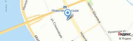 СПРОС на карте Санкт-Петербурга