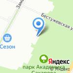 Харизма на карте Санкт-Петербурга