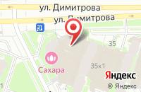 Схема проезда до компании Евротранссервис в Санкт-Петербурге