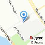 ВИЗ Фронт на карте Санкт-Петербурга