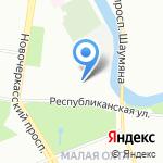 КарданСервис на карте Санкт-Петербурга