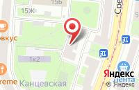 Схема проезда до компании Голдмедиапресс в Санкт-Петербурге