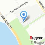 Абамет-Северо-Запад на карте Санкт-Петербурга