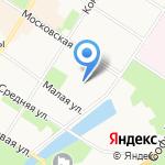 Комплексный центр социального обслуживания населения Пушкинского района на карте Санкт-Петербурга