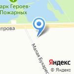 СЕРЕБРЯНЫЕ КЛЮЧИ на карте Санкт-Петербурга