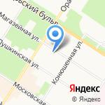 Отдел дознания на карте Санкт-Петербурга