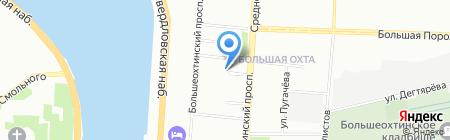 N1SK на карте Санкт-Петербурга