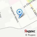 Петромет на карте Санкт-Петербурга