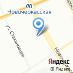 Петербургская региональная строительная компания на карте Санкт-Петербурга