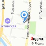 Адвокатский кабинет Ореховой Г.В. на карте Санкт-Петербурга