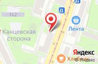 Схема проезда до компании Школа Ледового Шоу «Ледяная Фабрика» в Санкт-Петербурге