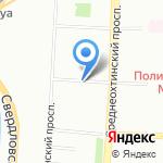 Рекоил на карте Санкт-Петербурга