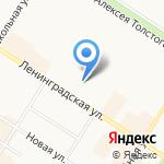 Управление ФСИН по г. Санкт-Петербургу и Ленинградской области на карте Санкт-Петербурга