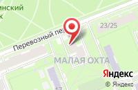 Схема проезда до компании Миралл в Санкт-Петербурге