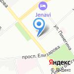 Олири на карте Санкт-Петербурга