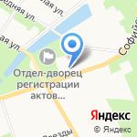 Первый пограничный кадетский военный корпус на карте Санкт-Петербурга