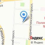 Центр физкультуры и здоровья Красногвардейского района на карте Санкт-Петербурга