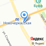 Subway на карте Санкт-Петербурга