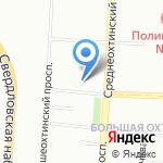 Заходи Генацвале на карте Санкт-Петербурга