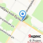 Галерея художников на карте Санкт-Петербурга