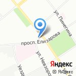 Артур на карте Санкт-Петербурга
