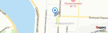 Платный туалет на карте Санкт-Петербурга