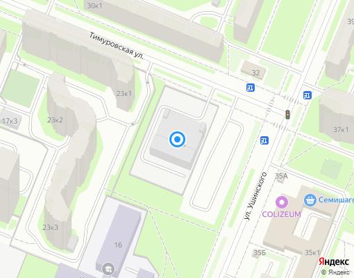 Управляющая компания «Тимуровское» на карте Санкт-Петербурга