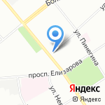 Магазин №1 на карте Санкт-Петербурга