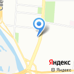 Фиджи на карте Санкт-Петербурга