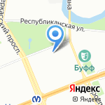 Нокс на карте Санкт-Петербурга