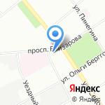 Муниципальное образование округ Невская застава на карте Санкт-Петербурга
