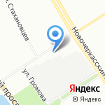 Christian Dance School на карте Санкт-Петербурга