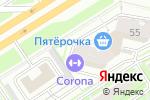 Схема проезда до компании Цуруги в Санкт-Петербурге