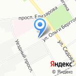 Средняя общеобразовательная школа №340 на карте Санкт-Петербурга