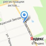 Царскосельский карнавал на карте Санкт-Петербурга