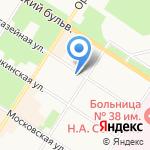 Mix на карте Санкт-Петербурга