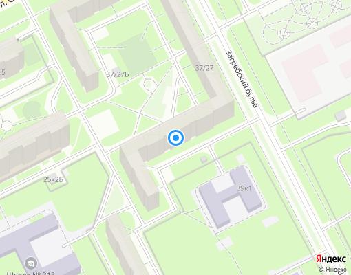 Товарищество собственников жилья «Загребский 37/27» на карте Санкт-Петербурга
