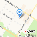 АСЭРП на карте Санкт-Петербурга