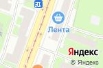 Схема проезда до компании Красногвардейское МРА Союзпечать, ЗАО в Санкт-Петербурге