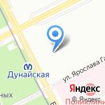 АПТЕКА.БМХ на карте Санкт-Петербурга